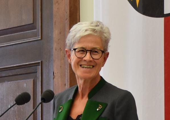 Gerda Lenger, ehem. Klubobfrau der Grünen Linz