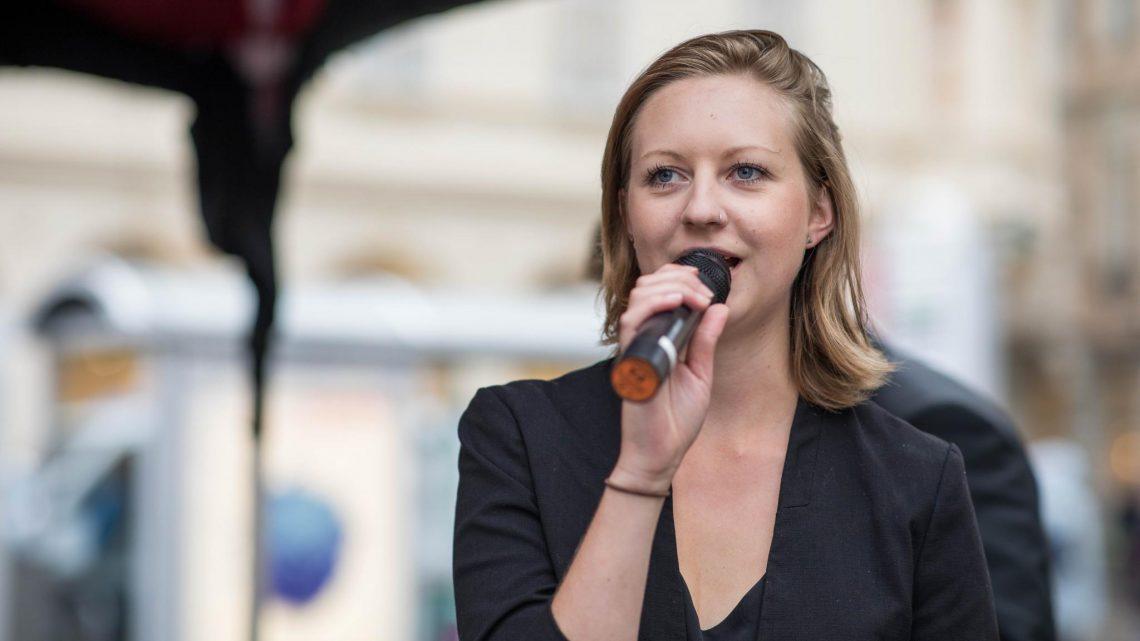 Nina Andree, Landesvorsitzende Sozialistische Jugend OÖ